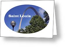 Gateway Arch - Saint Louis - Transparent Greeting Card
