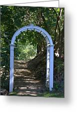 Gateway To Heaven Greeting Card by Myrna Migala