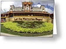 Gateway To The Magic Panorama Greeting Card