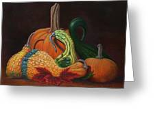 Gathering Of The Gourds Greeting Card
