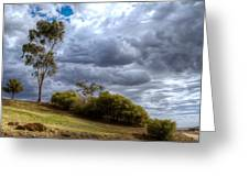 Gathering Storm Clouds Greeting Card