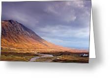 Gathering Storm Glencoe Greeting Card