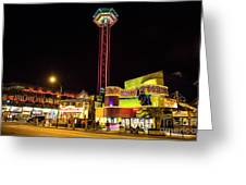Gatlinburg Downtown, Gateway To The Great Smoky Mountains National Park Greeting Card