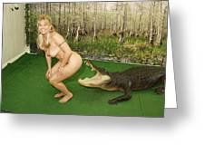 Gator Bites Greeting Card