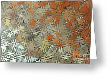 Gaudi Mozaic Abstraction Greeting Card