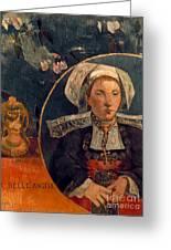 Gaugin: Belle Angele, 1889 Greeting Card