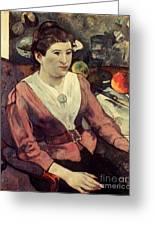Gaugin: Marie Derrien, 1890 Greeting Card