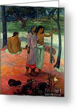 Gauguin: Call, 1902 Greeting Card