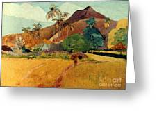 Gauguin: Tahiti, 1891 Greeting Card