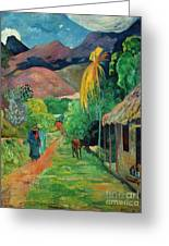 Gauguin Tahiti 19th Century Greeting Card