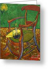 Gauguin's Chair Greeting Card