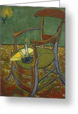 Gauguin's Chair Greeting Card