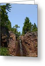 Gauthier Falls In Late August Greeting Card