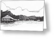 Gayana Island Resort Greeting Card