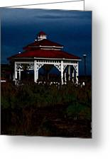 Gazebo  22 Fletcher Lake Greeting Card