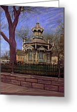 Gazebo At Wisconsin Club Greeting Card