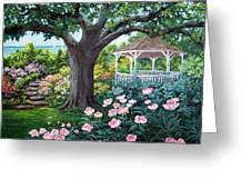 Gazebo By The Lake Greeting Card