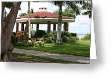 Gazebo Punta Gorda Fl Greeting Card