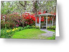 Gazebo View Greeting Card