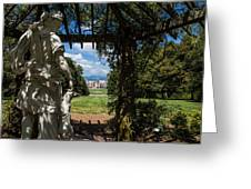 Gazebo With A View Greeting Card