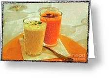 Gazpacho Aperitifs Greeting Card
