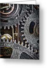 Gears Of Life Greeting Card