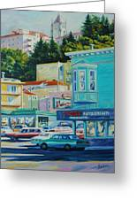 Geary Street Greeting Card