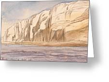 Gebel Abu Fodde By Edward Lear  1867 Greeting Card