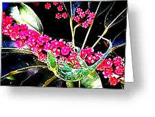Gecko Berry Greeting Card