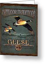 Geese Traditions Greeting Card