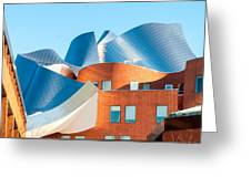 Gehry Architecture Greeting Card
