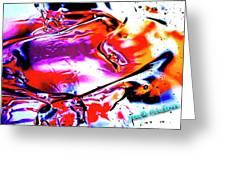 Gel Art #14 Greeting Card