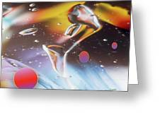 Gel Art #17 Greeting Card