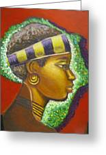 Gem Of Africa Greeting Card