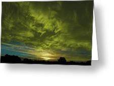 Gem Sunset Greeting Card