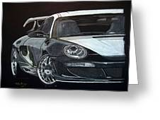 Gemballa Porsche Right Greeting Card