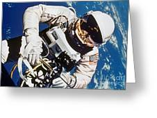 Gemini 4: Spacewalk, 1965 Greeting Card