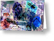 Gems Of Ice Greeting Card