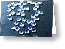 Gemstone And Jewellery Greeting Card