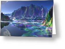 Gemstone Mountain  Greeting Card
