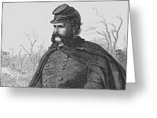General Ambrose Burnside Greeting Card