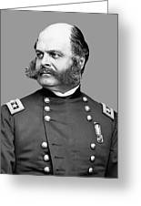 General Burnside Greeting Card by War Is Hell Store