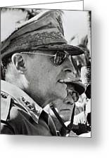 General Douglas Macarthur, 1944 Greeting Card