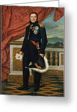 General Etienne  Maurice Gerard Jacques  Louis David  1816 Greeting Card