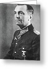 General Friedrich Wilhelm Ernst Paulus 1942 Greeting Card
