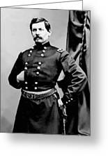 General George Mcclellan Greeting Card by War Is Hell Store