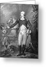 General George Washington At Trenton Greeting Card