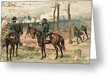 General Grant, Battle Of Shiloh, 1862 Greeting Card