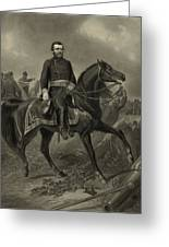 General Grant On Horseback  Greeting Card