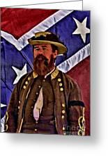 General Jeb Stuart Of Vmi Greeting Card